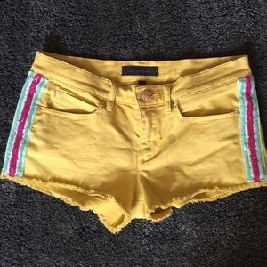 Juicy Jean Couture jean shorts
